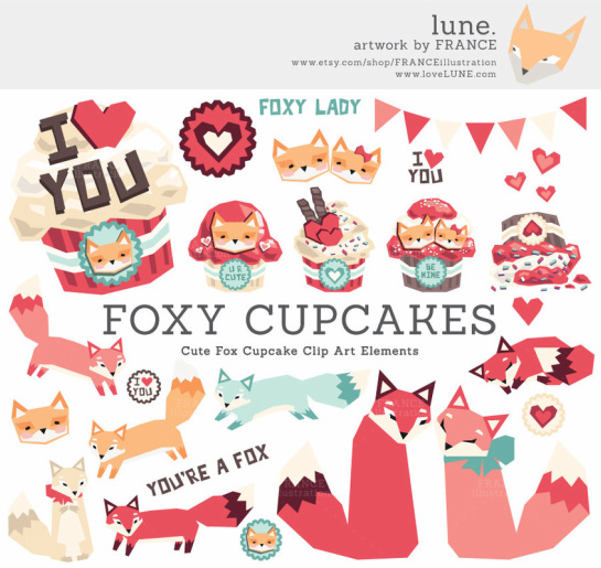 Foxy Cupcakes!